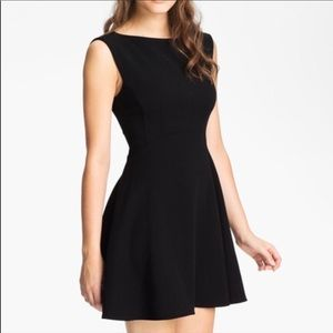 French Connection Feather Ruth Fit and Flare Dress